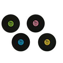 Sets de table disque vinyle - à l'unité - Diamètre 39 cm - Objet à poser