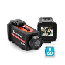 Caméra sport Full HD 1080p grand angle étanche 8 Go - Caméra sport
