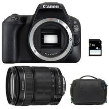 CANON eos 200d + 18-135 is stm + sac + sd 4go