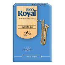 Saxophones RICO ANCHES SAXOPHONE BARYTON ROYAL 2.5 Anches saxophone Baryton - Accessoire Bois et Cuivres