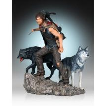 The Walking Dead statuette 1/8 Daryl & the Wolves 26 cm - Grande Figurine