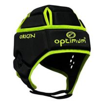 Optimum homme origin casque de protection - black fluorescent yellow, small - Protections du sport