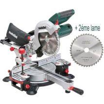 Perforateur Burineur Metabo Khe 2444 800W 2.3 J + Kit 4 Forets - 2 Burins - 1 Mandrin Et 1 Adaptateur - 606154000 - Marteau perforateur