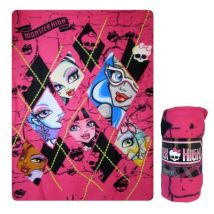 PLAID MONSTER HIGH - (100 X 150CM) 06/18561 - Couvertures - Edredons - Couettes