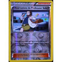 carte Pokémon 134/160 Observations du Professeur Seko REVERSE XY05 NEUF FR - Jeu de cartes