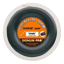 Signum pro tornado bobine cordage de tennis noir 1,17 mm x 200 m - Cordage de tennis