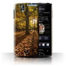 Coque de Stuff4 / Coque/Etui/Housse pour Sony Xperia Ray/ST18i / Forêt Design / Automne Saison Collection - Etui pour téléphone mobile