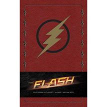 The Flash Hardcover Ruled Journal - [Version Originale] - poche