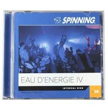 Spinning - Eau d'énergie IV CD d'exercice - Accessoires de cardio-training