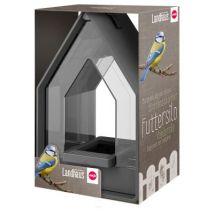 EMSA - Mangeoire Silo Landhaus pour Oiseaux - Granite - Mangeoires et abreuvoirs