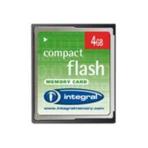 Integral - carte mémoire flash - 4 Go - CompactFlash - Cartes CompactFlash