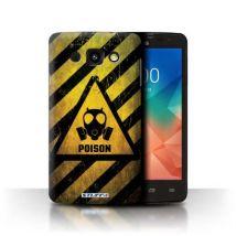Coque de Stuff4 / Coque/Etui/Housse pour LG L60/X145 / Poison Design / Signes de Danger Collection - Etui pour téléphone mobile