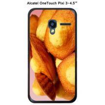 Coque Alcatel OneTouch PIXI 3 - 4,5'' - Madeleines - 5 - Etui pour téléphone mobile