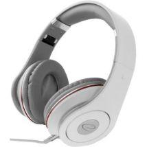 Esperanza audio casque stéréo pliantes avec controle de volume eh141w 5m blanc eh141w - - Webcam