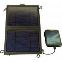 Tiger panneaux solaires pliableb 5 w powerplus eq0398 - Chargeur pour téléphone mobile