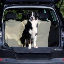 Couverture Pour Sièges De Voiture, 0,65 × 1,45 M, Noir/Beige - Mon Animalerie - Transport et voyage du chien