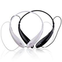 Casque à écouteurs sans fil avec microphone pour les téléphones intelligents Blanc - Casque PC