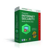 Kaspersky Internet Security 2016 (2 postes/1 an) - édition limitée - Logiciel PC