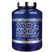 100% whey protein scitec - 920 - chocolat blanc - Nutrition sportive