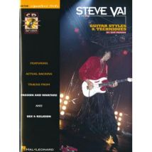 Partition variété, pop, rock... IMP VAI STEVE - SIGNATURE LICKS + CD - GUITARE Guitare - broché
