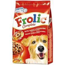 Croquettes Frolic Semi-humide au boelig, uf pour chien adulte 4 kg, 800gr - Nourriture pour chien