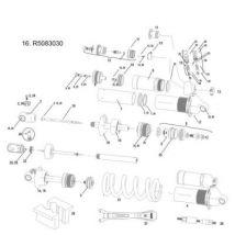 Rockshox hot rod reglage aiguille o-ring vivid vivid air 2011 229 222 x 70 x 70 mm - Pièces détachées de vélo