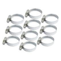 Les colliers de tuyau flexible du jubilé / Clips 20mm 32mm 10pk - Tuyaux, fixations et accessoires