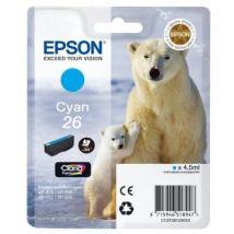 Epson T2612 Cartouche D'Encre D'Origine 300 Pages 4,5 Ml Cyan - Cartouche d'encre noire