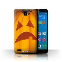 Coque de Stuff4 / Coque/Etui/Housse pour Lenovo A768T / Triste Design / Citrouille Halloween Collection - Etui pour téléphone mobile