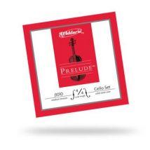 Violoncelles D'ADDARIO PRELUDE VIOLONCELLE 4/4 JEU DE CORDES CDD J1010-4/4M TENSION NORMALE Cordes violoncelle - Accessoire Cordes d'orchestre