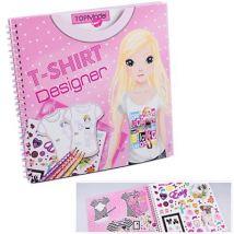 Album coloriage T-Shirt Designer Top Model - Autres cadeaux naissance