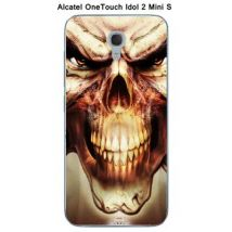 Coque Alcatel OneTouch IDOL 2 Mini S - Skull - Etui pour téléphone mobile