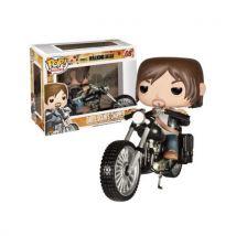 Figurine Funko Pop The Walking Dead Darryl Dixon sur son moto - Petite figurine