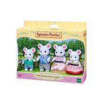 Playset Sylvanian Families Famille souris marshmallow - Moyenne figurine