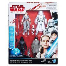 Pack de 4 figurines Star Wars Episode VIII The Last Jedi - Accessoire de déguisement