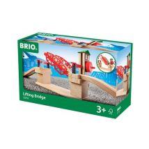 Brio World 33757 Pont Basculant - Circuit ou accessoire train en bois