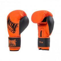 Gants d'entraînement Metal Boxe Iron Orange et Noir Taille 14 OZ - Boxe