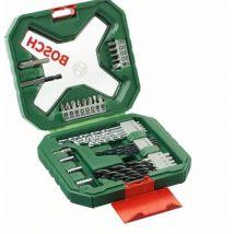 Coffret Bosch X-Line Classic percage et vissage 34 pièces - Kit d'accessoires pour outillage électroportatif