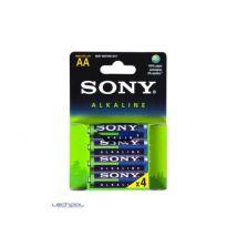 Sony Alkaline Blue Am3l-b4d - Batterie - Type Aa - Alcaline X 4