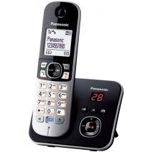 Téléphone Fixe sans fil Panasonic KX-TG6821 Noir - Téléphone sans fil