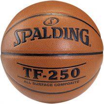 Ballon de basket Spalding TF 250 Outdoor Taille 6 Marron - Ballon