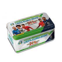 Boite métal de 8 pochettes soit 48 cartes Panini Adrenalyn XL Road to Uefa Euro 2020TM Modèle Aléatoire - Jeu de cartes