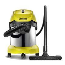 Aspirateur eau et poussière Karcher WD3 Premium Jaune - Outil de nettoyage