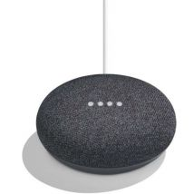 Google Home Mini Assistant Vocal Charbon - Enceinte intelligente