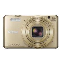 Appareil Photo Compact Nikon Coolpix S7000 Or