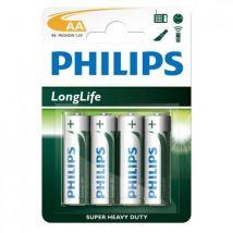 PHILIPS AA 2500 MAH 4BL (HR6) - (donnée non spécifiée)