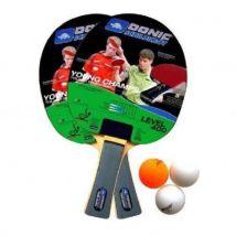 Set de Ping Pong Tennis de table Donic-Schildkrot Level 400 Noir - Accessoire de tennis de table