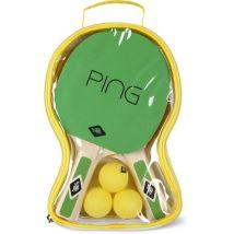 Set de Ping Pong Tennis de table Donic-Schildkrit Vert - Accessoire de tennis de table