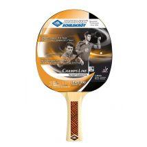 Raquette de Ping Pong Tennis de table Donic-Schildkrot Champs Line 300 Noire et Rouge - Accessoire de tennis de table