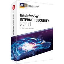 Bitdefender Internet Security 2018 1 An 5 Postes - DVD-ROM